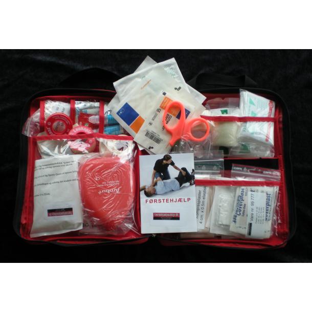 Førstehjælpstaske Rød