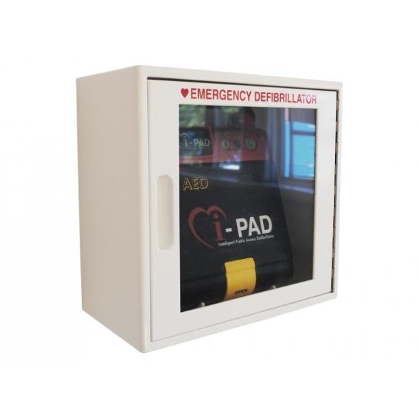 Vægkabinet for AED