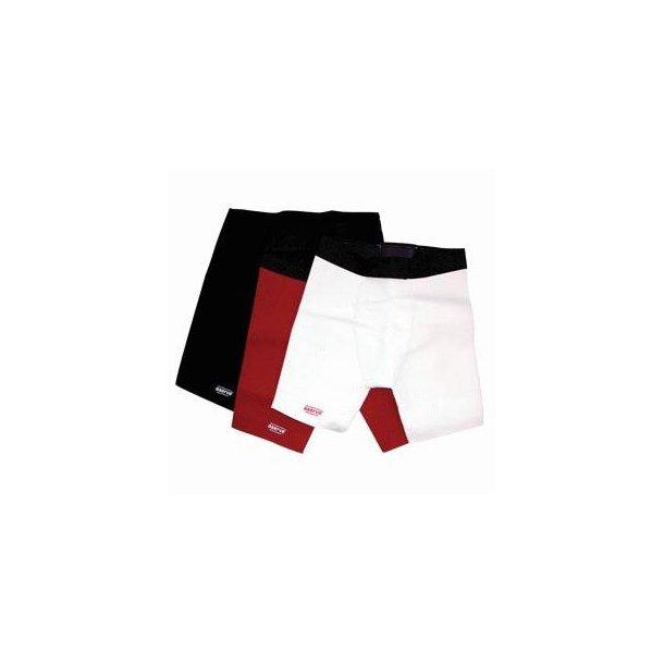Aserve Støtte-/lyskenshorts, Rød, Sort eller Hvid