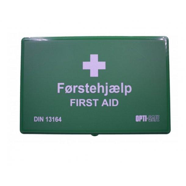 Førstehjælpskasse Grøn